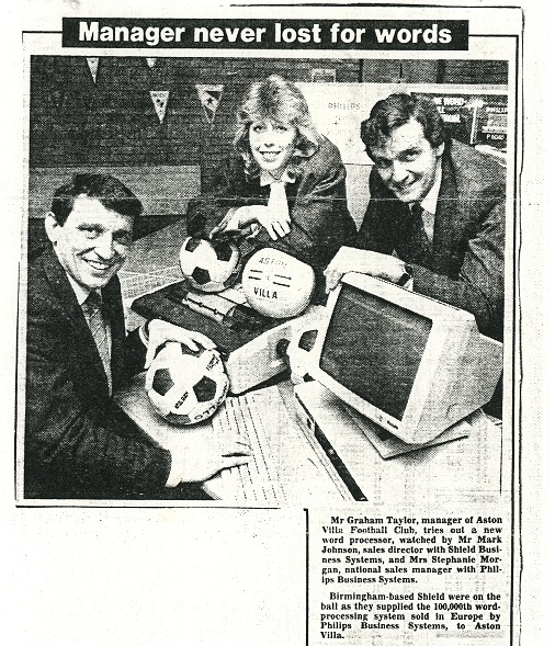 Grahame Taylor tries out a word processor